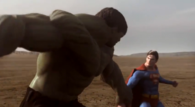 superman vs hulk 2