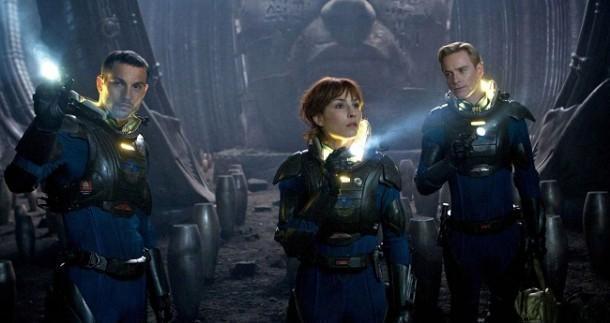 Prometheus 3d movie review