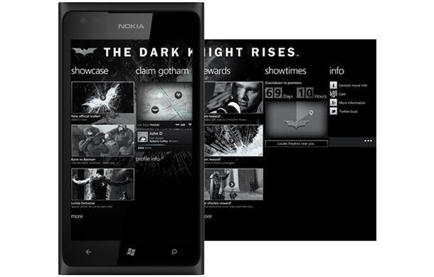Nokia Lumia 900 - Dark Knight Rises