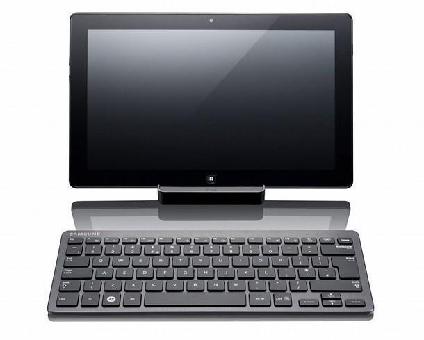 Samsung Series 7 Slate - Dock and Keyboard