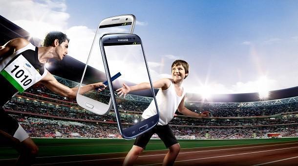 Samsung Galaxy SIII - Olympics