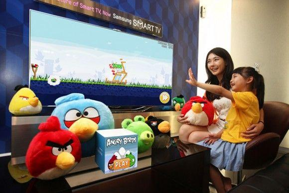 Samsung Series 8 TV - Angry Birds