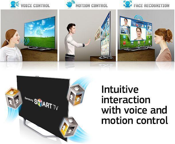 Samsung Series 8 TV - Smart Interaction