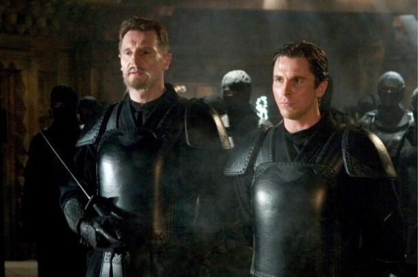 The Dark Knight Trilogy batman begins
