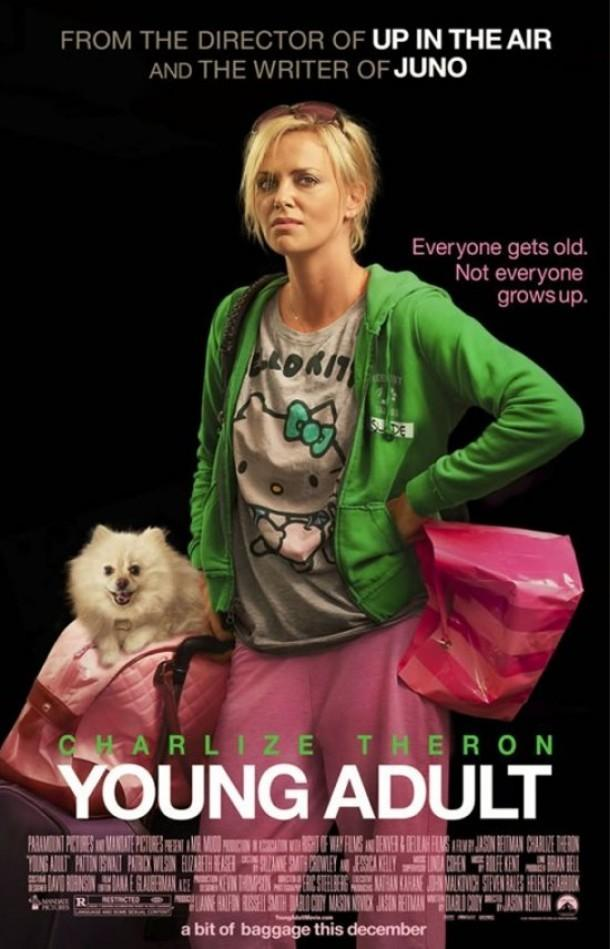 Young Adult Review - Charlize Theron is faultless as the condescending Mavis Gary