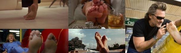 tarantino foot fetish