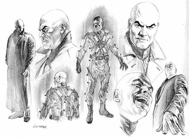 lex luthor alex ross The Origins of Lex Luthor