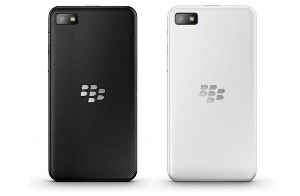 BlackBerry Z10 - Back