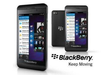BlackBerry Z10 - Header