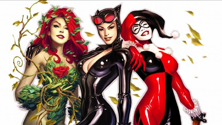 Gotham City Sirens - The Origins Of Poison Ivy, Catwoman And Harley Quinn
