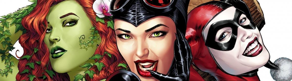 Gotham City Sirens – The Origins Of Poison Ivy, Catwoman And Harley Quinn