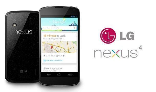LG Nexus 4 - Header