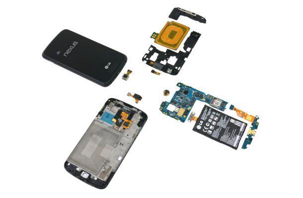 LG Nexus 4 - Innards