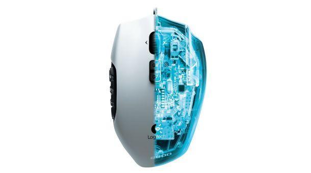 Logitech G600 MMO Gaming Mouse - Insides