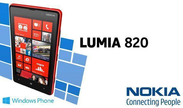 Nokia Lumia 820 - Header