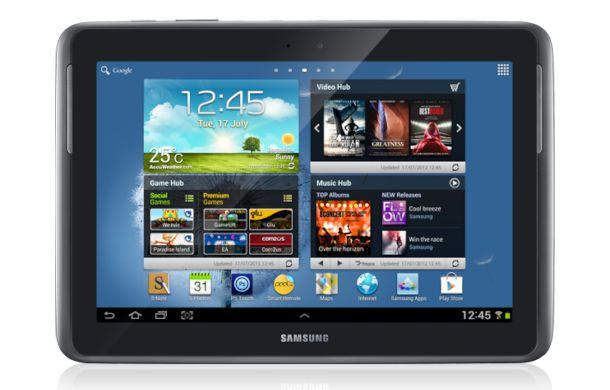 Samsung Galaxy Note 10.1 - Front