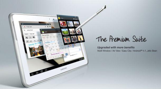 Samsung Galaxy Note 10.1 - Upgrade