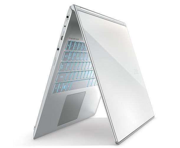 Acer Aspire S7 - Angle Keyboard