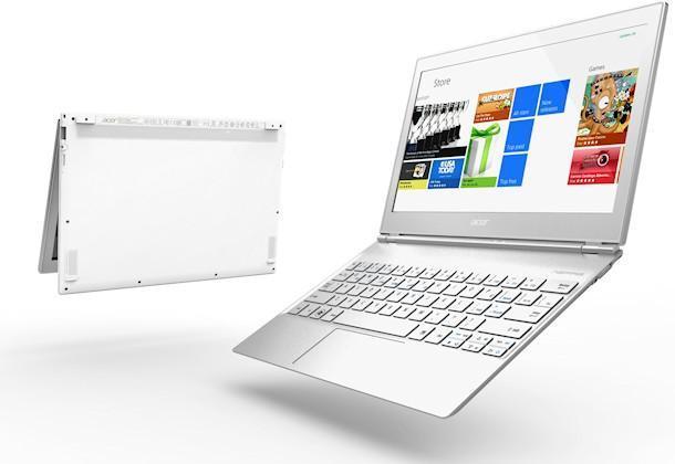 Acer Aspire S7 - Angle