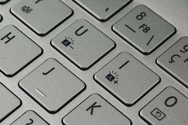 Acer Aspire S7 - Keyboard