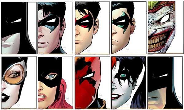 Bruce Wayne, Batman, Alfred Pennyworth, The Bat Family, The Joker