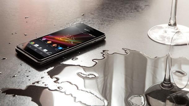 Sony Xperia V - Water Resistence