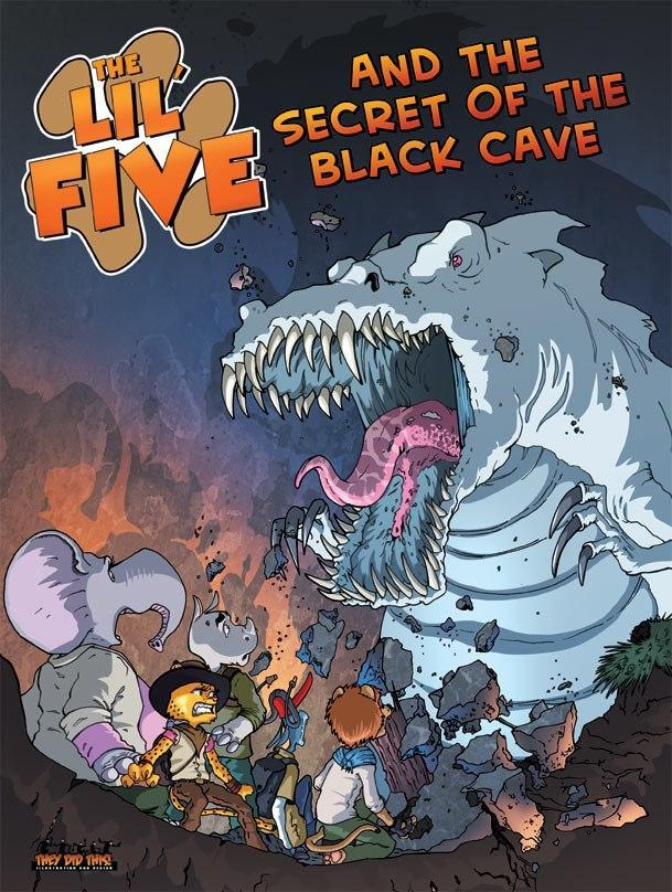 The Lil Five and the Secret of the Black Cave