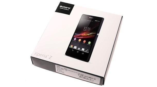 Sony Xperia Z - Box
