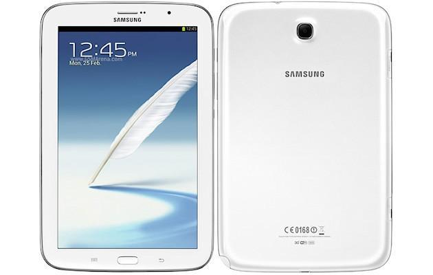 Samsung Galaxy Note 8.0 - Front Back