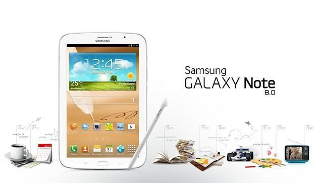 Samsung Galaxy Note 8.0 - Header