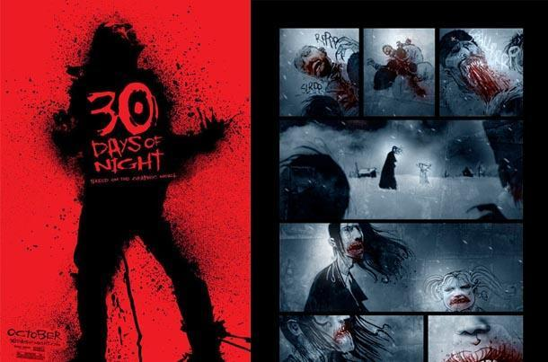 30 days of night comic book film