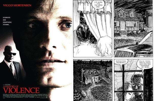 a history of violence comic book movie