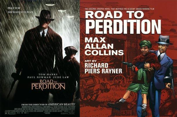 road to perdition comic book movie
