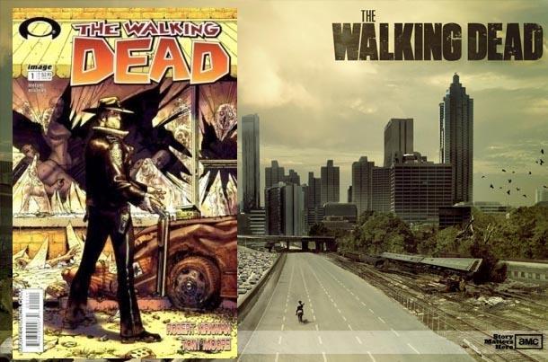 the walking dead comic book series