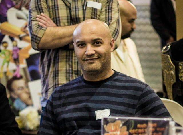 Moray Rhoda a South African comic book enthusiast
