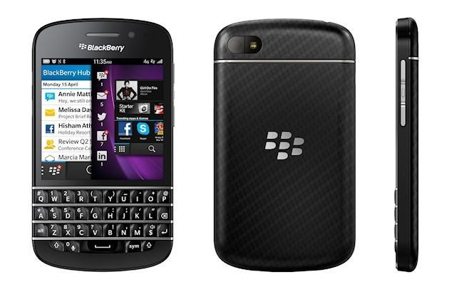 BlackBerry Q10 - Angles
