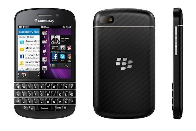 BlackBerry Q10 - Angles