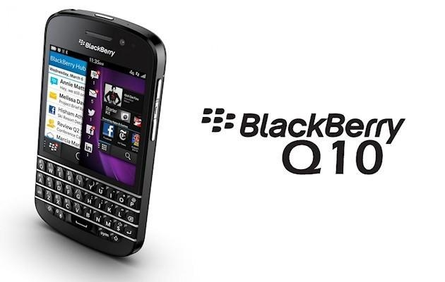 BlackBerry Q10 - Header