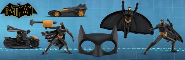 McDonald's Beware the Batman Happy Meal Toys