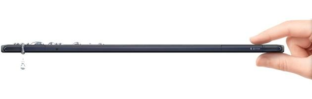 Sony Xperia Tablet Z - Dimensions