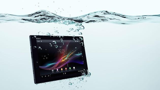 Sony Xperia Tablet Z - Water