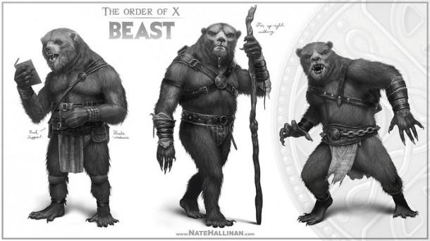 order of x beast