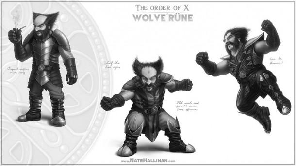 order of x wolverine 2