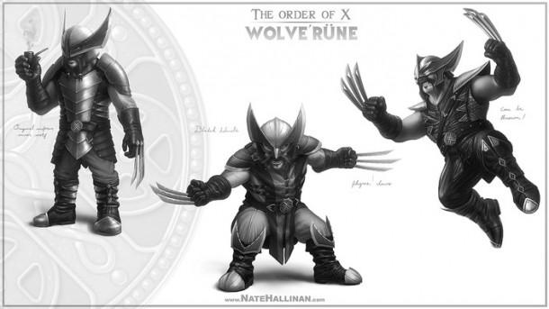 order of x wolverine
