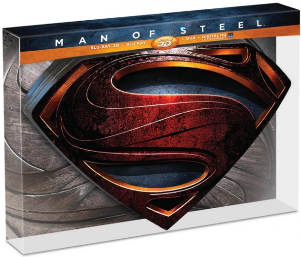 12945b Man of Steel: Limited Collector's Edition 3D Blu Ray Review Movies