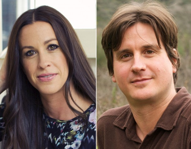 Alanis and Wade Morissette