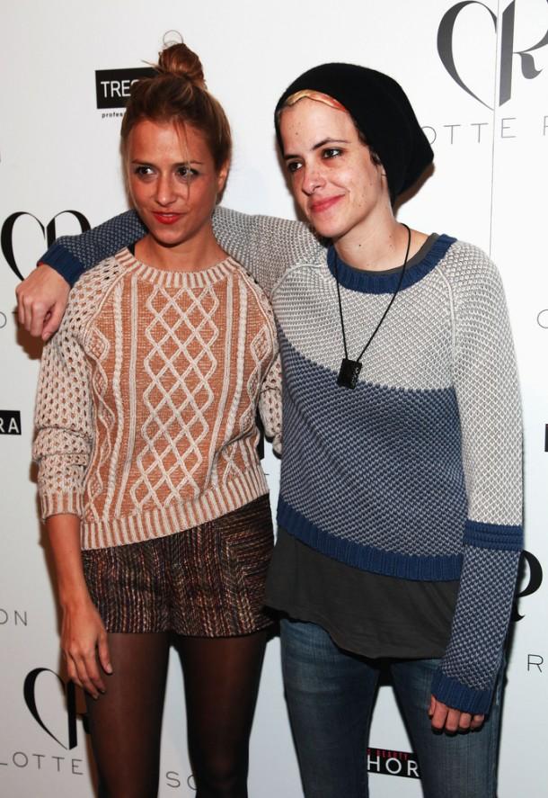 Charlotte and Samantha Ronson