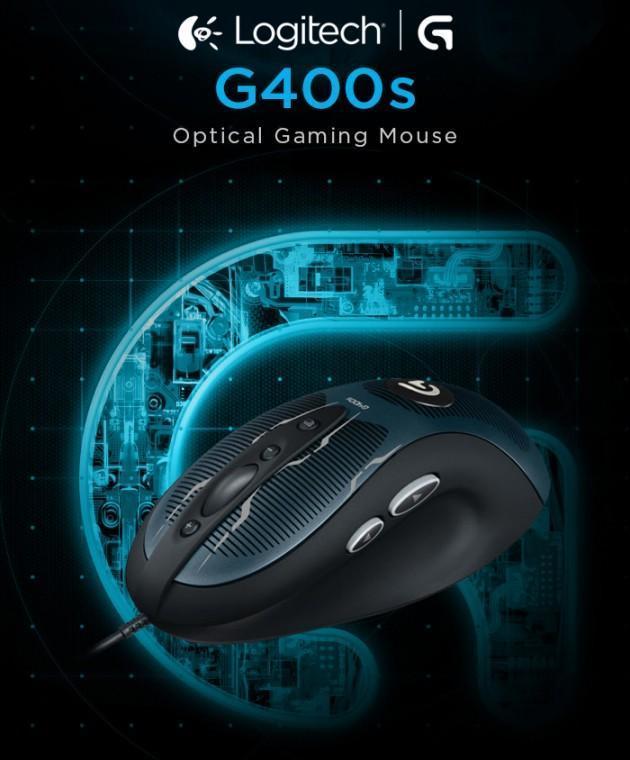 Logitech G400s - Header