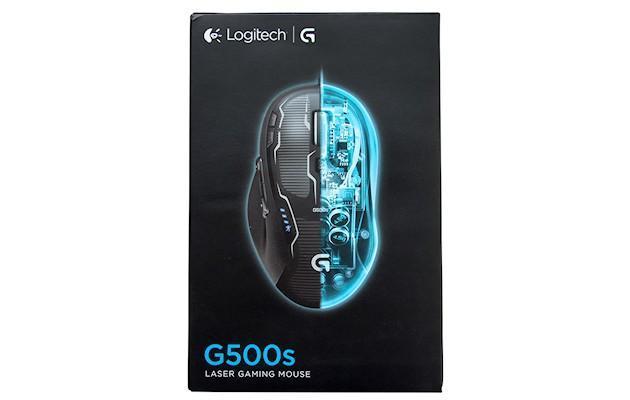 Logitech G500s - Box