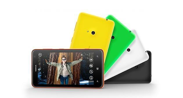 Nokia Lumia 625 - Colours